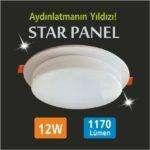 12w led panel star
