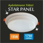 18w led panel star