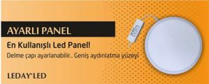Ayarlı LED Panel Spot