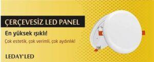 Çerçevesiz Led Panel