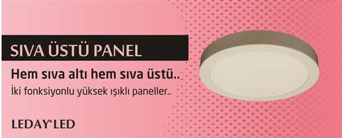 Sıva Üstü Led Panel
